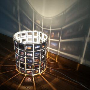 Lampe diapositives 25 cm Remember