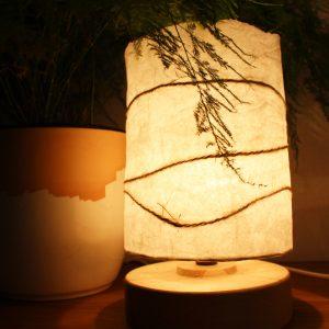 Détails de la lampe Chrysalide